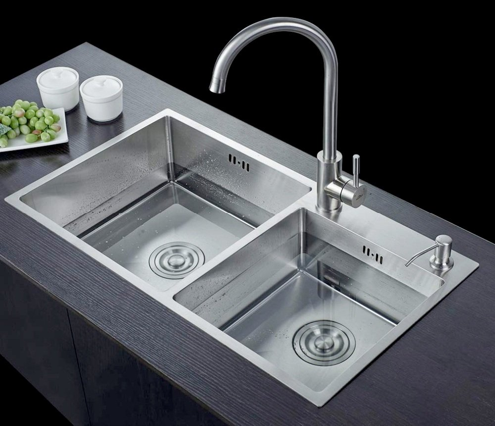 Chậu rửa Roslerer RL01-8245 Lệch