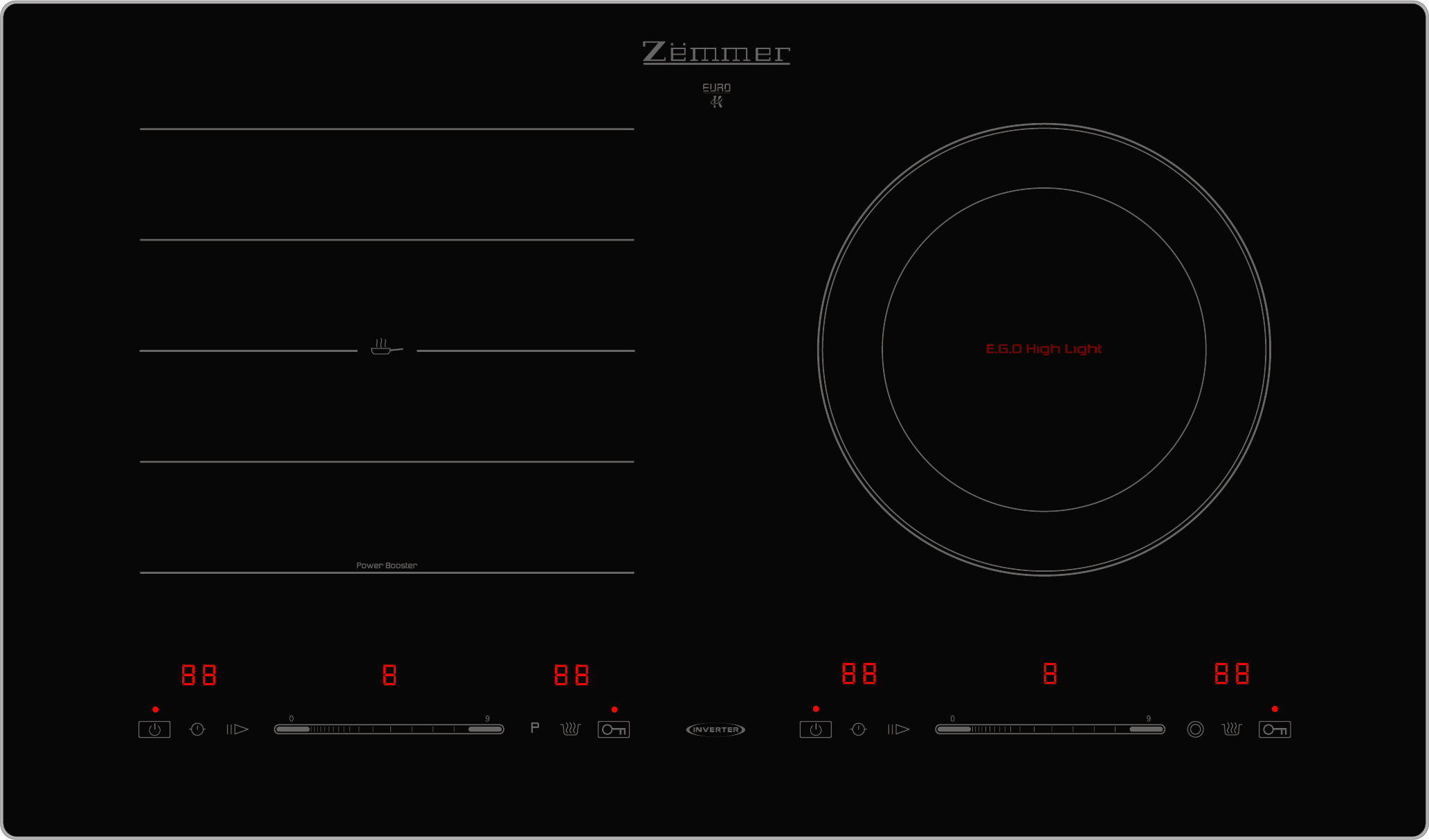 Bếp điện từ Zemmer IZM 201IH
