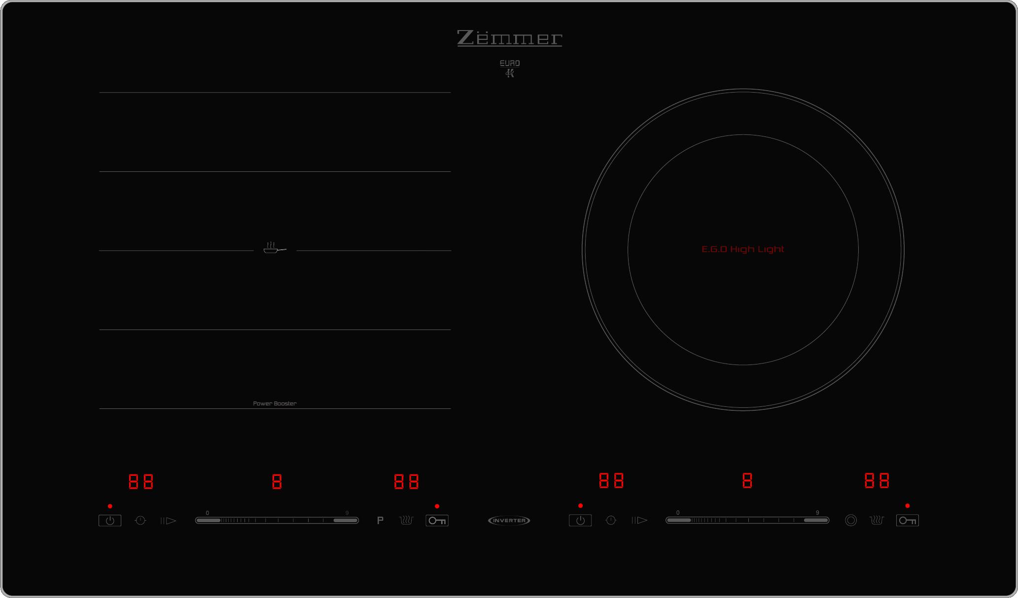 Bếp điện từ Zemmer IZM 203IH