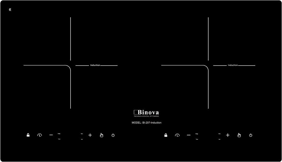 Bếp từ Binova BI 207 Induction