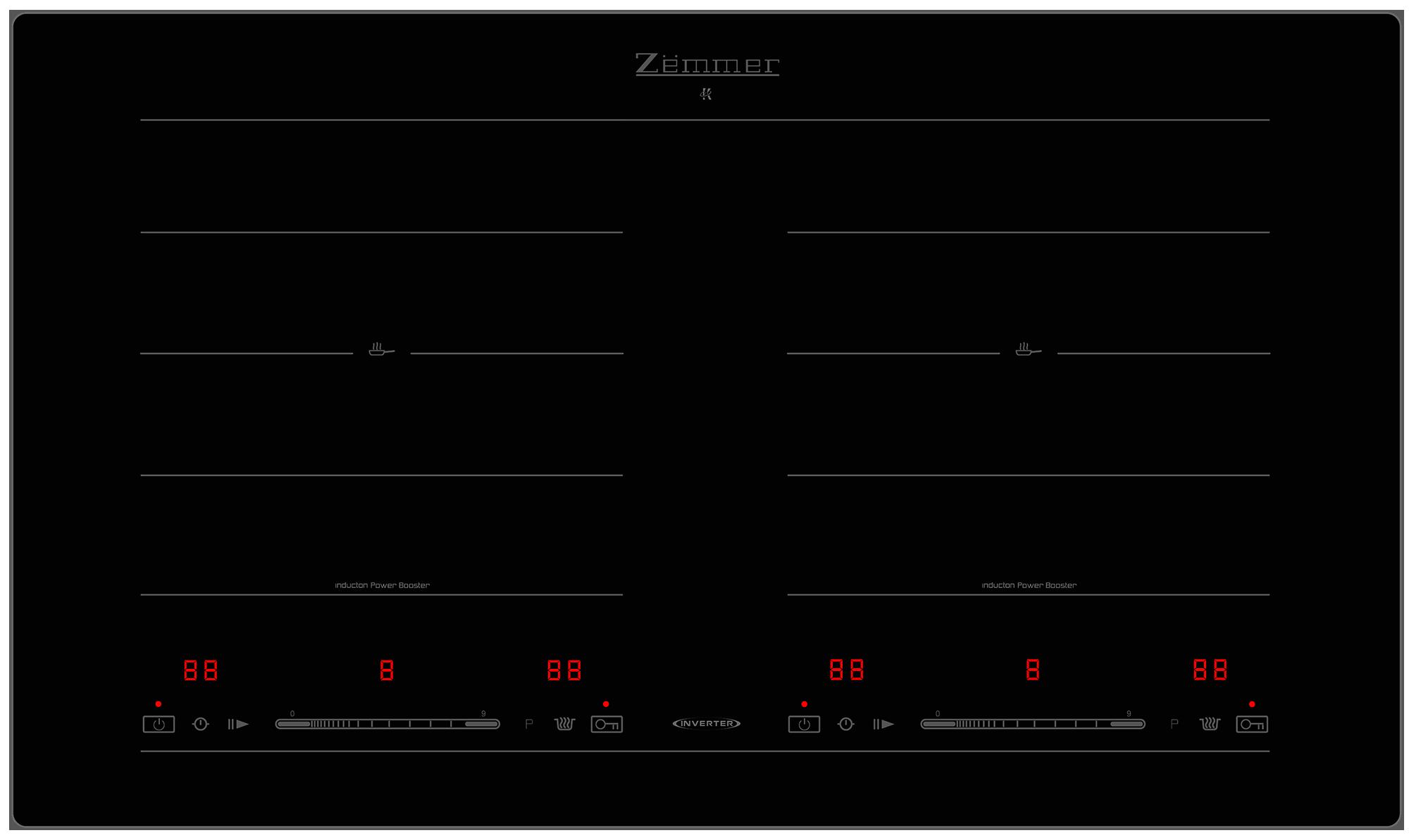 Bếp từ Zemmer IHZ 2575BK