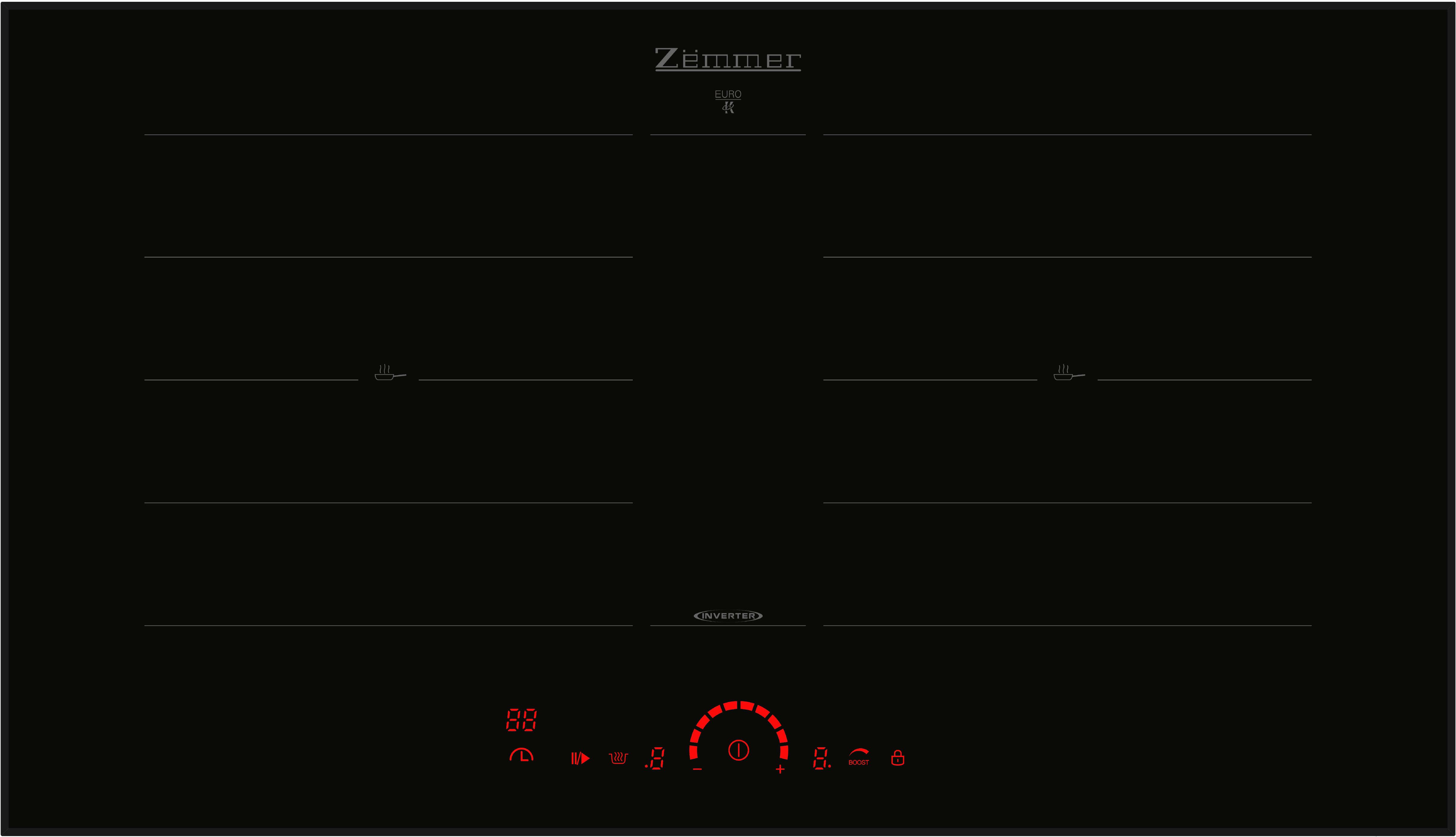 Bếp từ Zemmer IHZ 752 MB