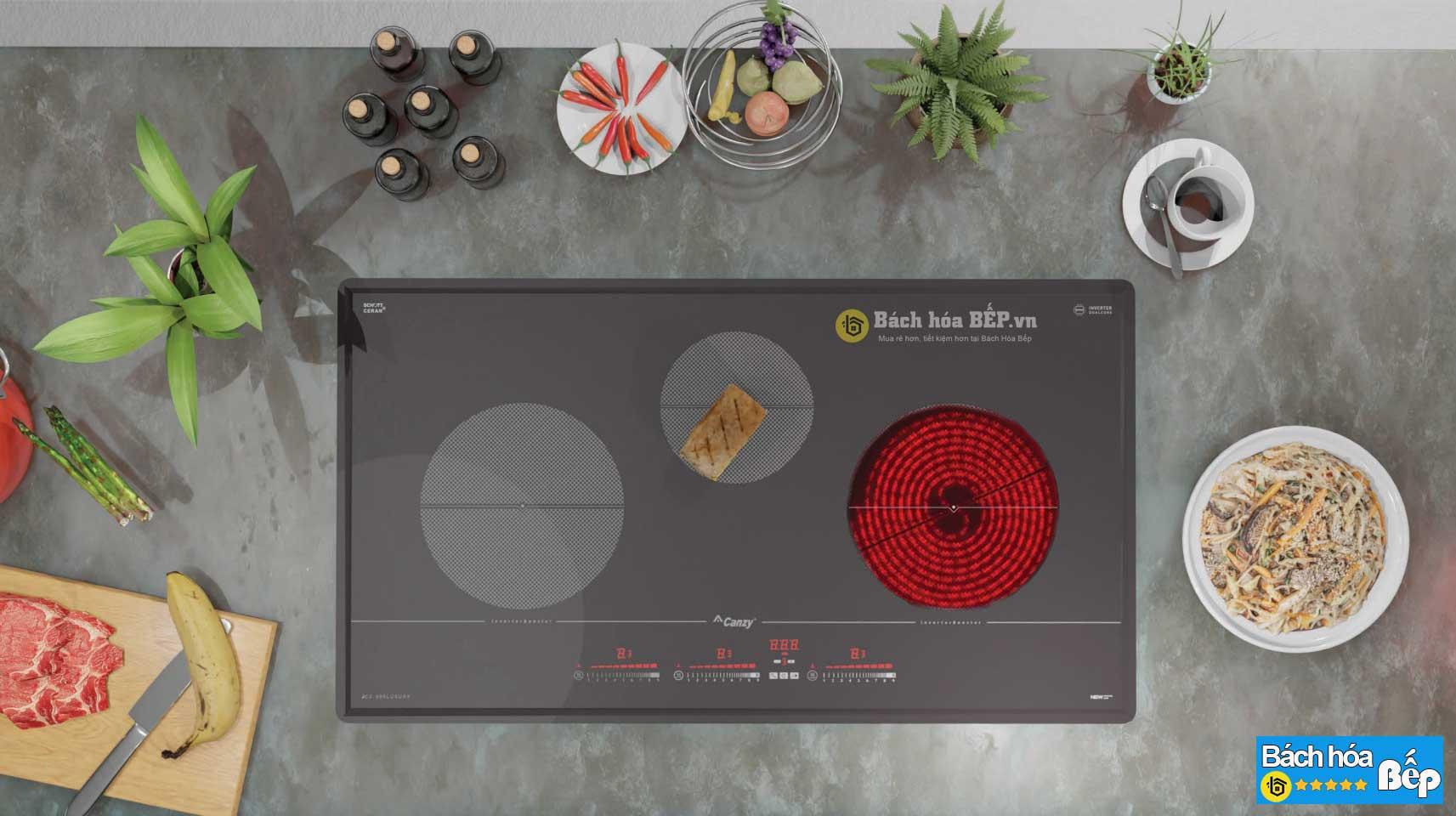 Bếp điện từ CZ 970 Plus nhập khẩu Đức