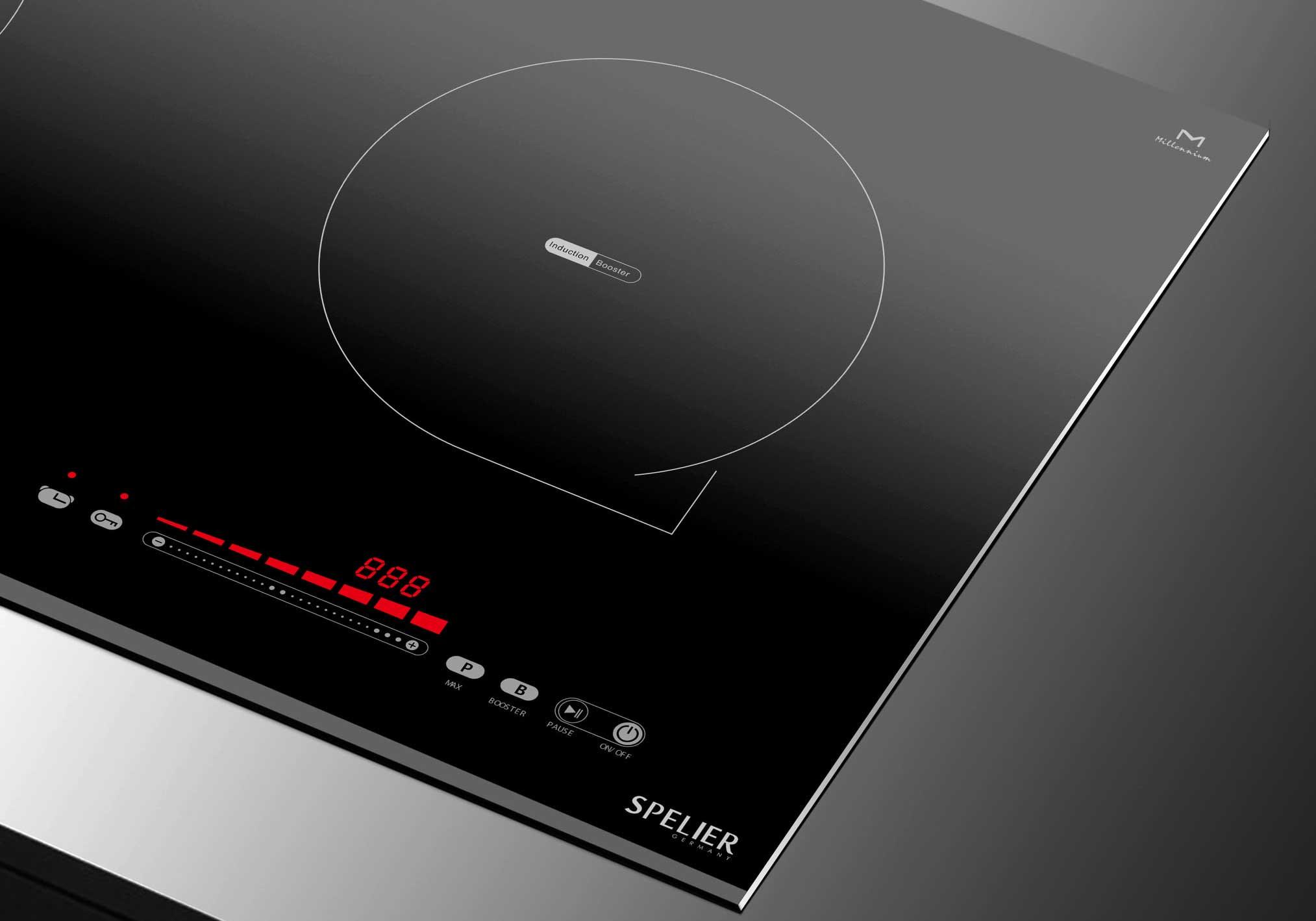 bảng điều khiển Bếp từ Spelier SPM 730K