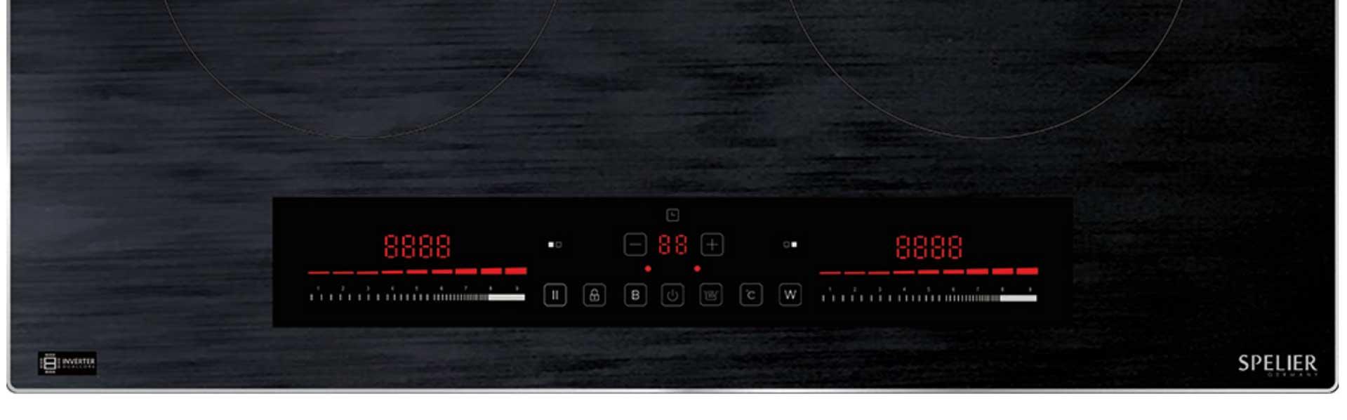 bảng điều khiển Bếp từ Spelier SPM-T71KS