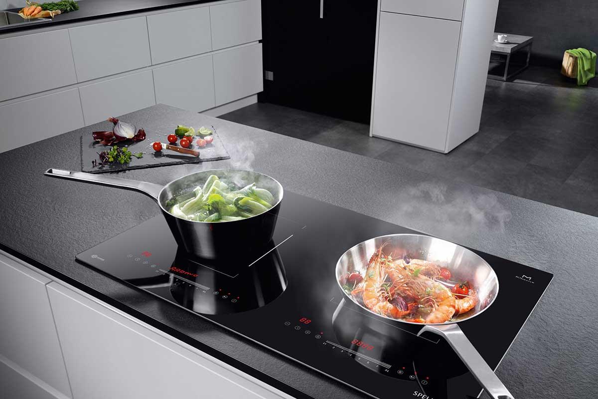 Bếp từ đôi Spelier SPM 989 QV