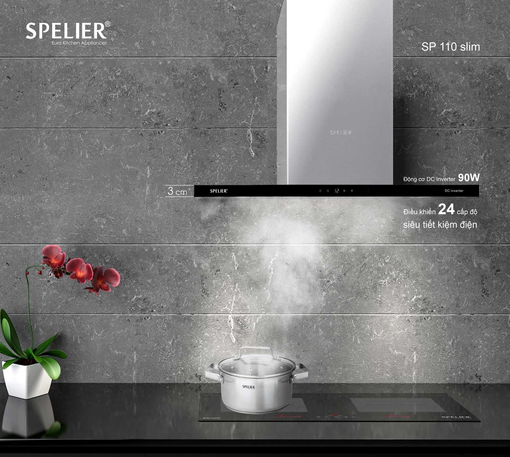 hút mùi Spelier SP 110DC/90