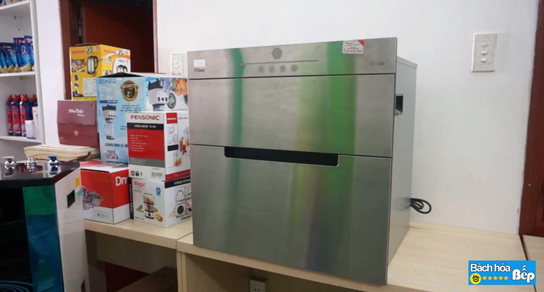 Máy sấy bát âm tủ Canzy CZ 1006
