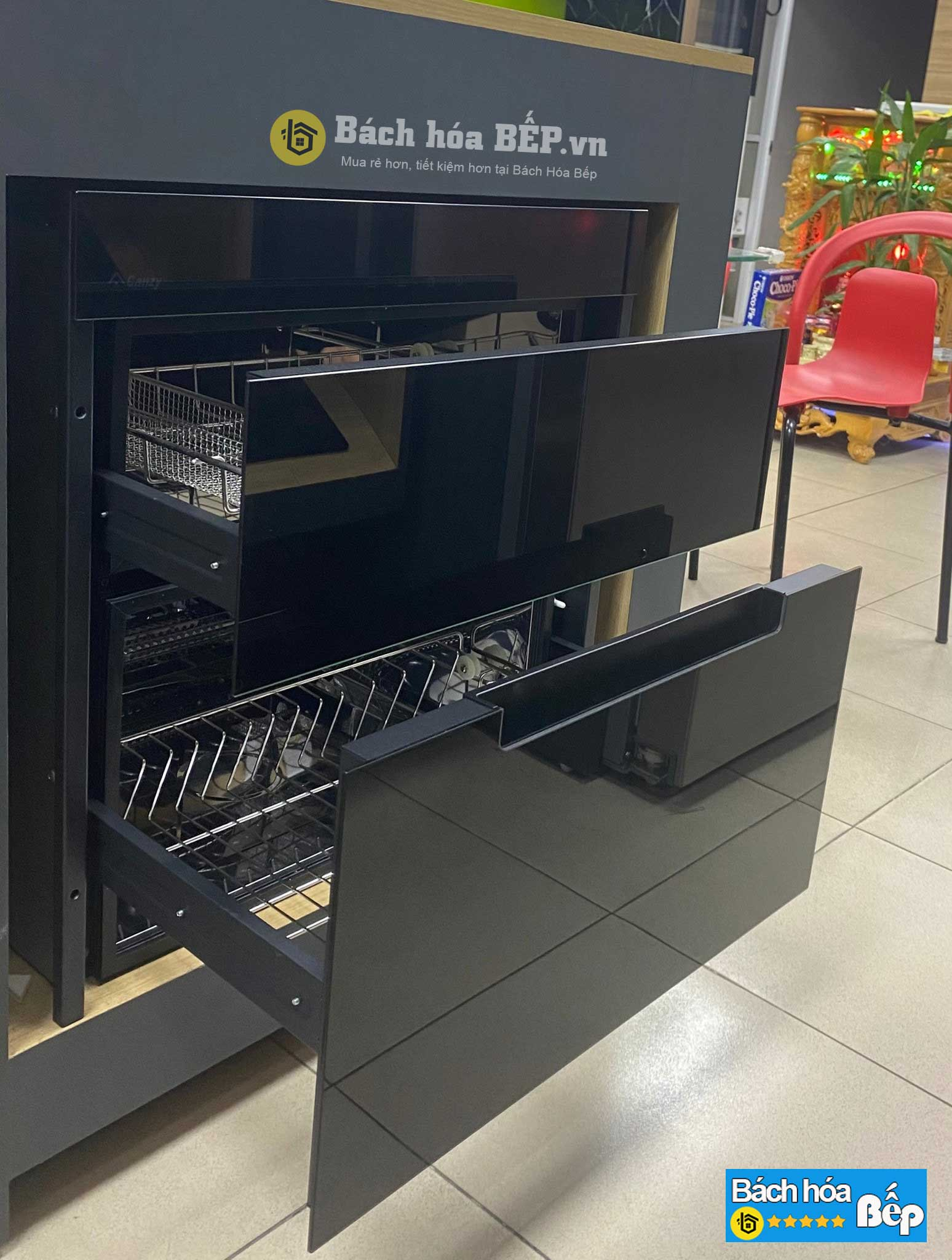 Máy sấy bát âm tủ Canzy CZ 100G